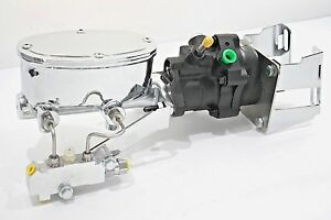 Details about 60-87 Chevy/GMC C/K Truck Hydroboost Black Series Master  Cylinder w/ Prop Valve