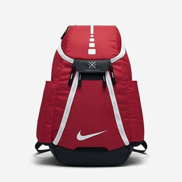 HOOPS ELITE MAX AIR TEAM 2.0 Basketball Backpack Red BA5259 657