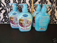 (4) Disney Frozen Frosted Berry Scented Hand Soap - Anna Elsa Olaf - 8 fl oz