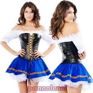 Costume-vestito-carnevale-donna-OKTOBER-FEST-travestimento-Halloween-DL-624