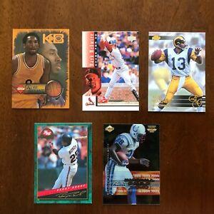 1994 B Bonds,98 Mcgwire, 98 K Bryant,99 M Faulk,2000 K Warner great value