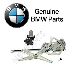 For BMW E36 Front Driver Left Electric Window Regulator w//o Motor Genuine