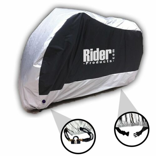 Triumph Tiger 1050 Rider Products Waterproof Motorcycle Cover Bike Silver Black