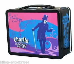 Charlie The Chocolate Factory Lunchbox No.1 NECA with Thermos