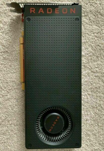 Dell 0JTPTC JTPTC AMD Radeon RX580 8GB GDDR5 3x DP 1x HDMI PCI-e x16 Video Card