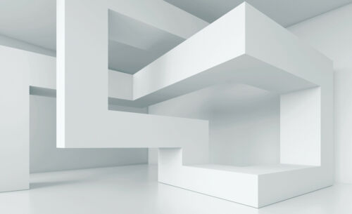VLIES Fototapete Tapeten Geometrie Abstraktion 3D Wanddekoration 14N2146VEXXXL