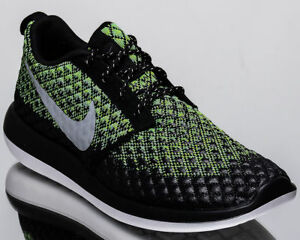 e98d284df971 Nike Roshe Two Flyknit 365 2 Men s lifestyle sneakers -volt grey ...
