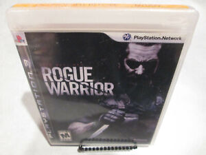 Rogue-Warrior-Sony-PlayStation-3-PS3-Brand-New-Factory-Sealed-SEAL-Team-Six