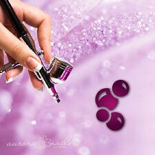 Airbrush klebe Schablonen - P030 - Nailart - Bubbles Blasen Kugeln Kreise 20Stk