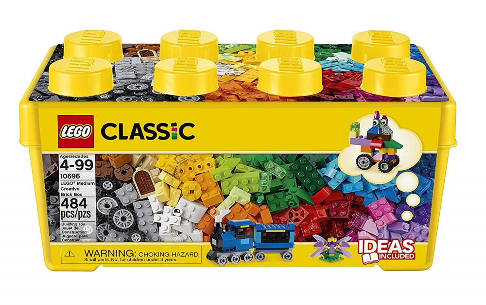 LEGO 10696 Classic Classic Classic Medium Creative Brick Box Easy Toy Storage Masters Fan Gift 814902