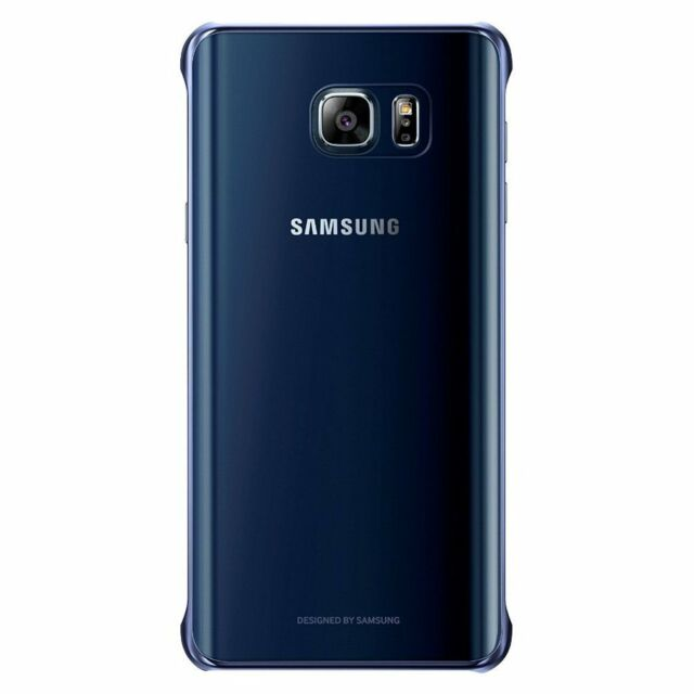 best service fa235 cef7d Samsung Galaxy Note 5 N920 Case Clear Protective Cover - Black Sapphire  Sides