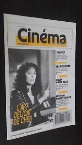 Revista Semanal Cinema N º 430 de La 24 Febrero A 1ER Mars 1988 Buen Estado