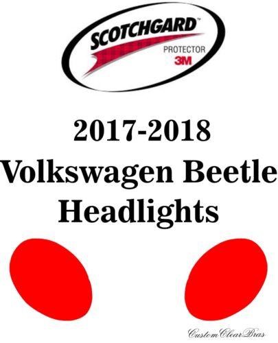 3M Scotchgard Paint Protection Film Clear Pre-Cut 2017 2018 Volkswagen Beetle
