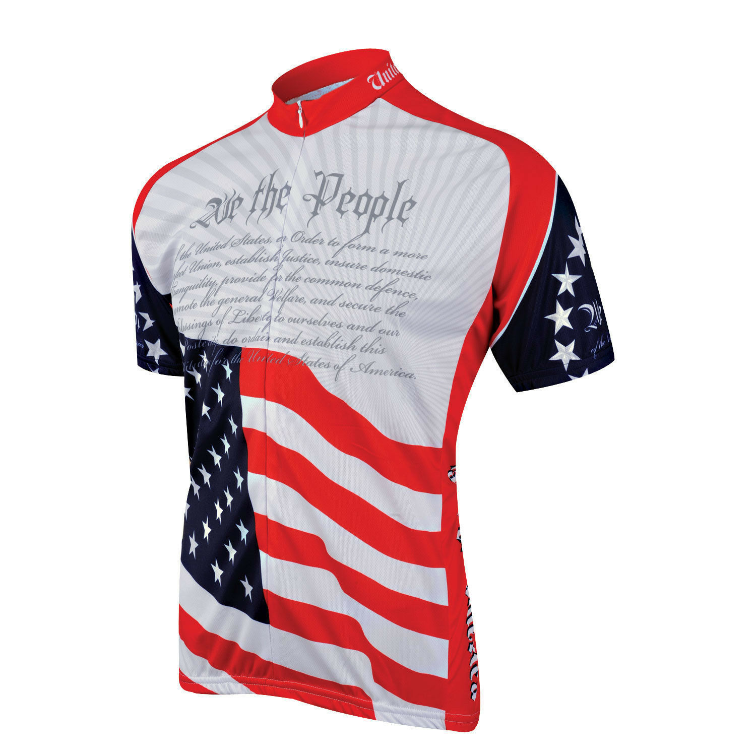 World Jerseys  US Constitution Jersey Size Medium or Large New  free shipping!
