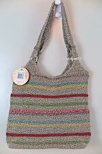 NWT The Sak Hand-Crocheted Voyager Stripe Large Tote Bag