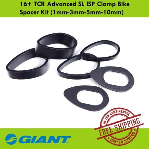 TCR Advanced SL ISP Clamp Bike Spacer Kit 1mm-3mm-5mm-10mm Giant 16