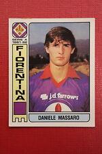 Panini Calciatori 1981/82 N. 147 FIORENTINA MASSARO CON VELINA OTTIMO!!!