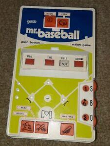 Galoob Original Mr.  Baseball Vintage Handheld Electronic Arcade Video Game
