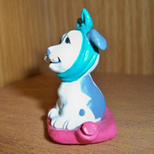 HALLMARK Merry Miniature 1990 Get Well Puppy Dog