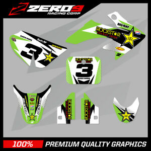 HONDA-CRF-50-MOTOCROSS-GRAPHICS-MX-GRAPHICS-KIT-DECAL-KIT-ROCKSTAR-GREEN-WHITE