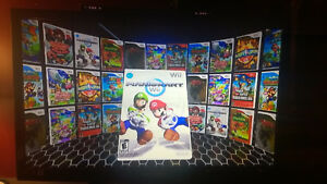 White-Wii-BUNDLE-With-OVER-3000-Classics-NES-SNES-SEGA-N64-amp-125-Wii-Games