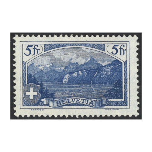Switzerland 1914 5f The Rulti MLH