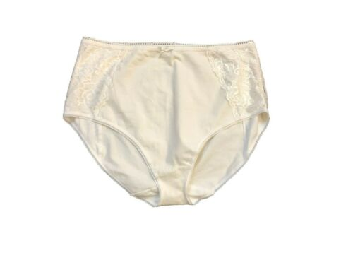 P204.6 Ex Marks and Spencer Cotton Rich Firm Control Full Briefs Size 12-22