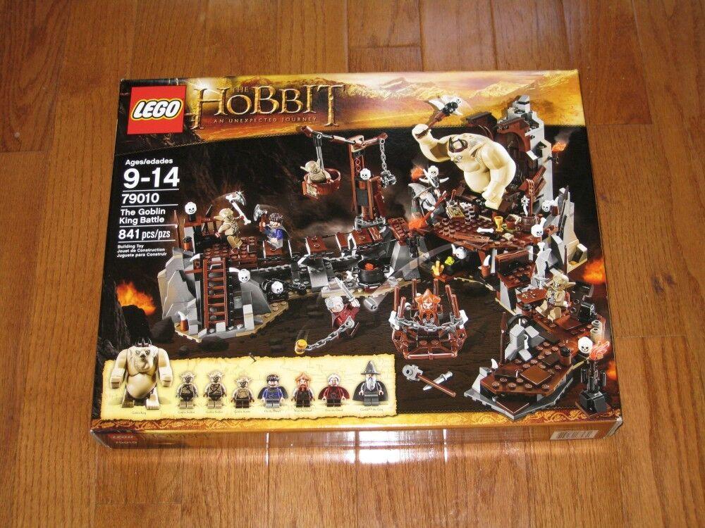 nuovo Sealed Retirosso Lego 79010 The Hobbit  The Goblin re Battle  acquista la qualità autentica al 100%