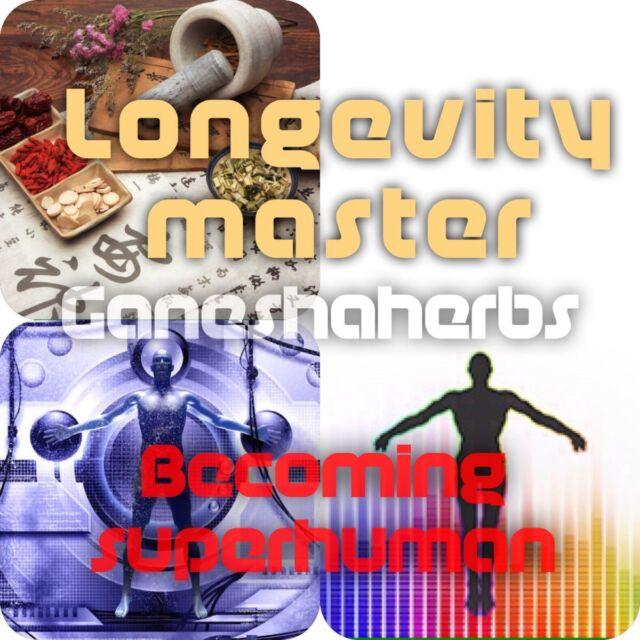 LONGEVITY MASTER Tonico cinesi 28 FORMULA 20:1 estratti di erbe 100g. anti-invecchiamento