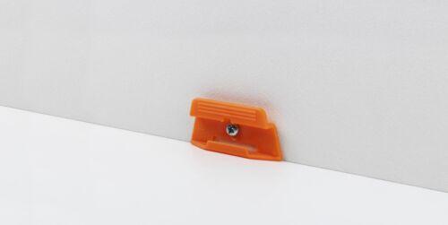 Fußleiste SL 3 Parador Leistenclips Befestigungsclips orange für Sockelleiste