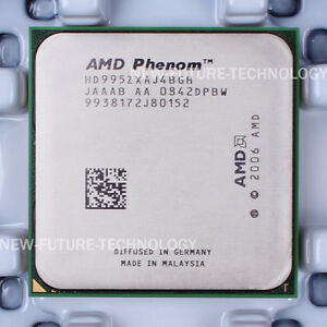 AMD Phenom X4 9950 (HD995ZXAJ4BGH) CPU 600 MHz 2.6 GHz Socket AM2+ 100% Work 730143265140 | eBay