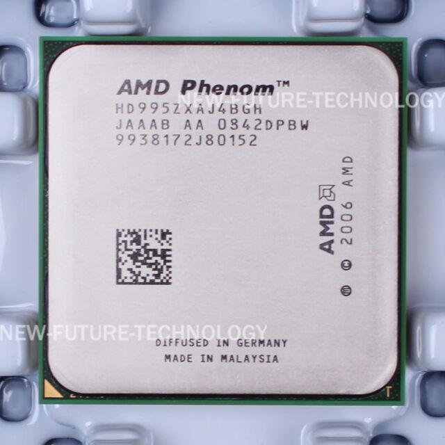 AMD Phenom X4 9950 (HD995ZXAJ4BGH) CPU 600 MHz 2.6 GHz Socket AM2+ 100% Work