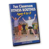 Fun Classroom Fitness Dvd Ages 4-9 on sale