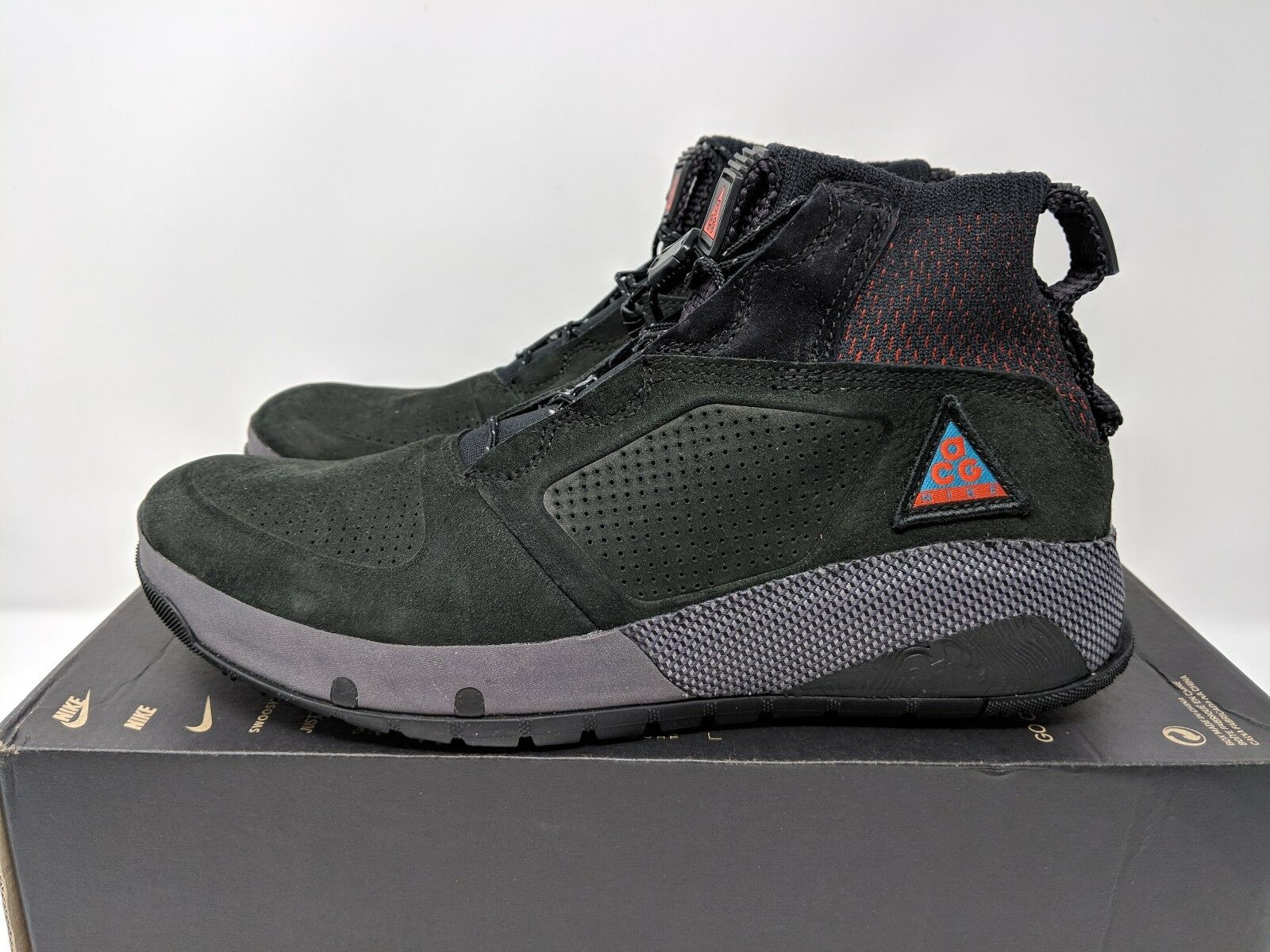 Nike ACG Ruckel Ridge (AQ9333-002) Black Men Size 8.5 NEW 100% Authentic