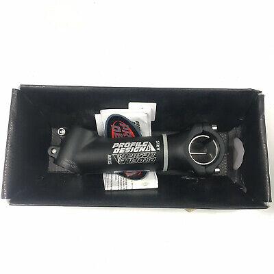 // Profile Design Aris Stem 130mm 25 degree 1-1//8 31.8 Black