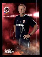Zdenek Scasny Autogrammkarte Sparta Prag 2015-16 Original Signiert+A 141481