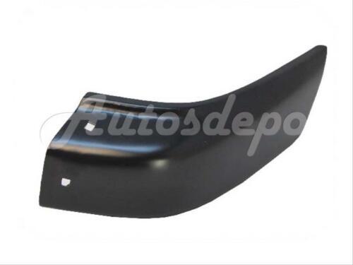 For 1996-1998 Pathfinder Front Bumper End Black W//O Fender Flare Hole Lh