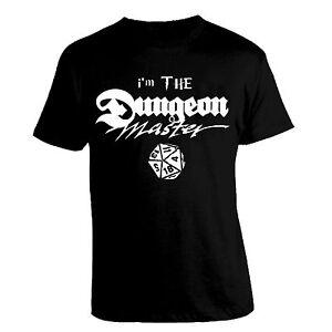 t-shirt-i-039-m-THE-Dungeon-Master-D-amp-D-dungeons-amp-dragons-dado-gdr-TSHIRT-Maglietta