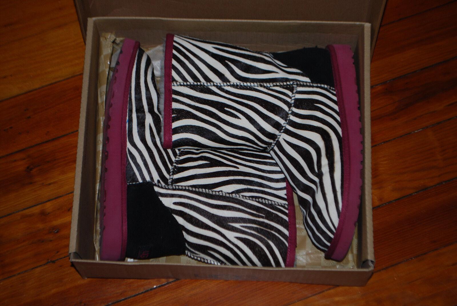 Women's Ugg Australia Exotic Zebra Hair Classic B… - image 3