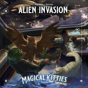 Gatitos salvar el día mágico! RPG invasión alienígena
