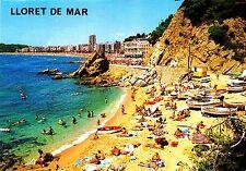 Lloret de Mar , Costa Brava , Ansichtskarte , Rückseite beschriftet