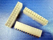 5Pcs 24Pin 24 Pin  Power Supply PCB Solder ATX I Straight  Plug PCB Connector