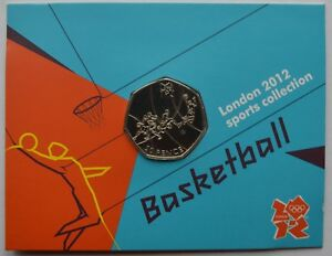 2012-London-Olympic-Games-50p-Sports-Collection-Uncirculated-Coin-Basketball