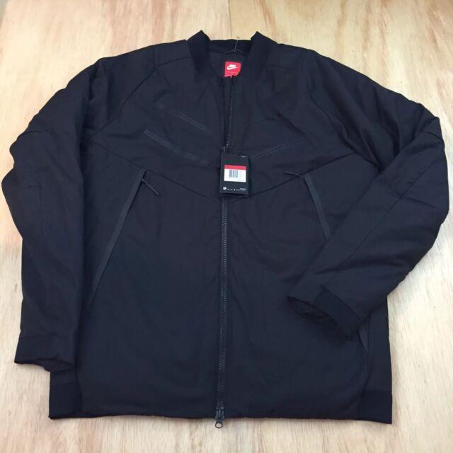 c9e0f1b68b20 Nike Sportswear Aeroloft Tech Bomber Jacket Black SZ  LT (Large Tall) MRSP   325