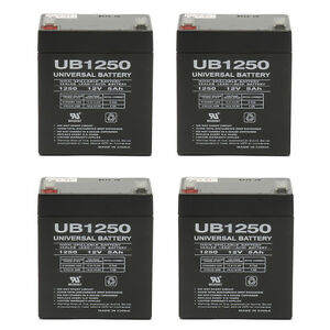 Mighty Max Battery ML5-12 12V 5AH F1 UPS Battery for Belkin Pro F6C325-3 Pack Brand Product