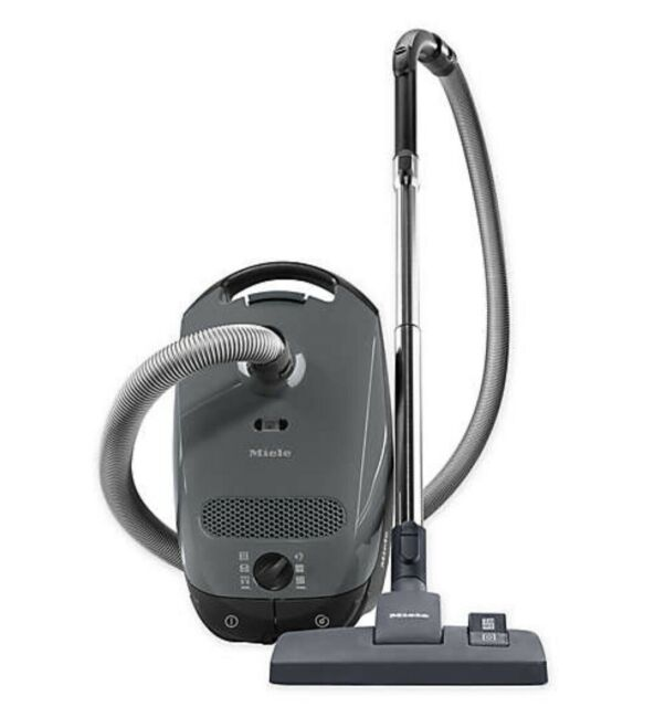 Miele Classic C1 Pure Suction Canister Vacuum Cleaner, Graphite Grey - Open Box