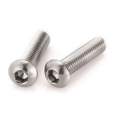M10 x 50 A2 STAINLESS STEEL HEX BOLT PACK OF 10