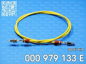 Macroconn crimp terminals for repair wire 000979133E 6 pieces