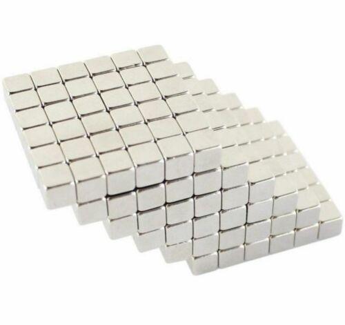N35 Imanes de neodimio Cubos bloques cuadrados ~ 10mm X 10mm X 10mm ~ Tire 4.20kg