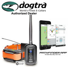Dog Dogtra Pathfinder GPS Tracking Training E-collar Smartphone Control